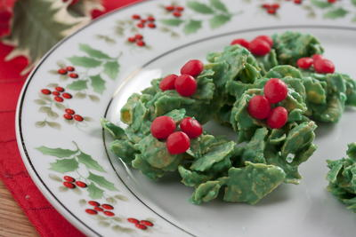 Melt in Your Mouth Wreath Treats