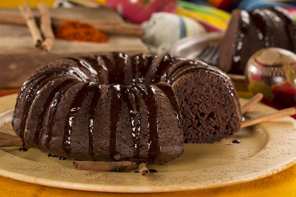 Mexican Chocolate Cake | MrFood.com