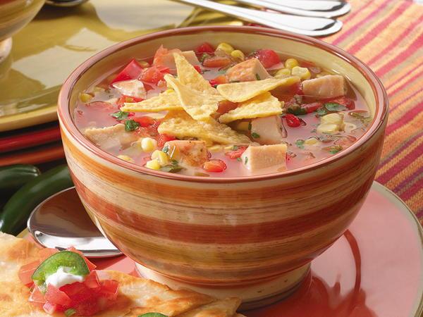 Mexican Tortilla Soup | MrFood.com