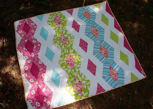 Princess Kate Diamond Quilt Pattern Favequilts Com