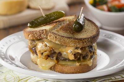 Old-Fashioned Patty Melts