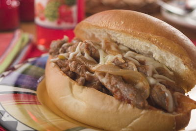 South of the Border Steak Sandwiches