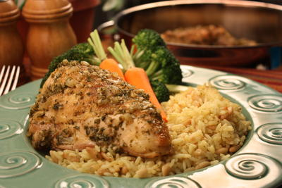 Old World Spanish Chicken