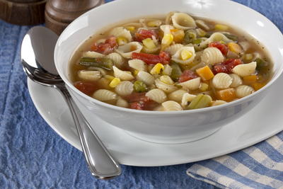 One Pot Vegetable Soup