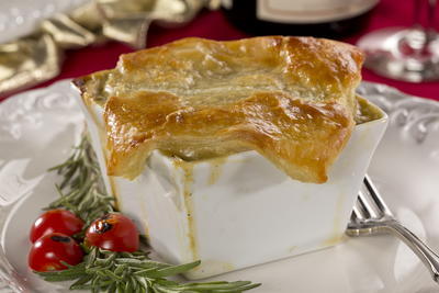Oscar-Worthy Chicken Pot Pie