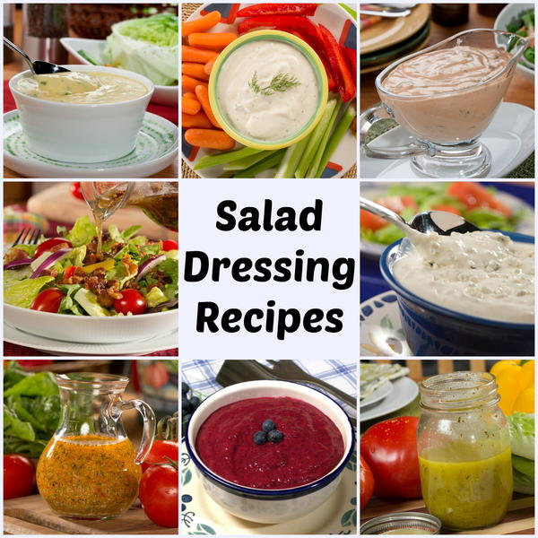33 Cheap, Easy Salad Dressings to Make at Home | MrFood.com
