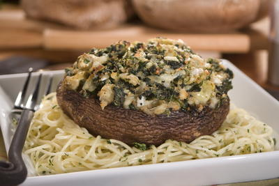Overstuffed Portabella Mushrooms