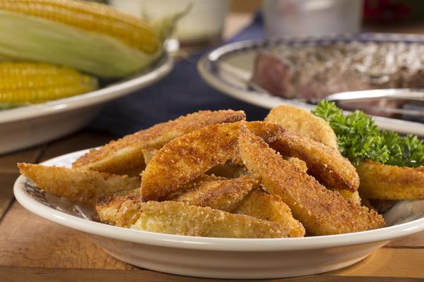 Parmesan Potato Sticks | MrFood.com