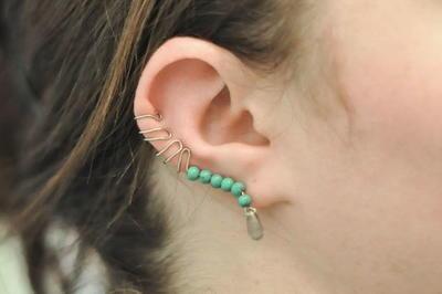 Southwest Silver DIY Ear Cuff
