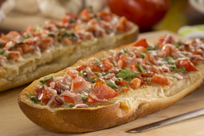 Pepperoni Garlic Bread