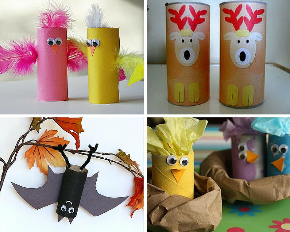 animal crafts for kids 27 crafts with toilet paper rolls
