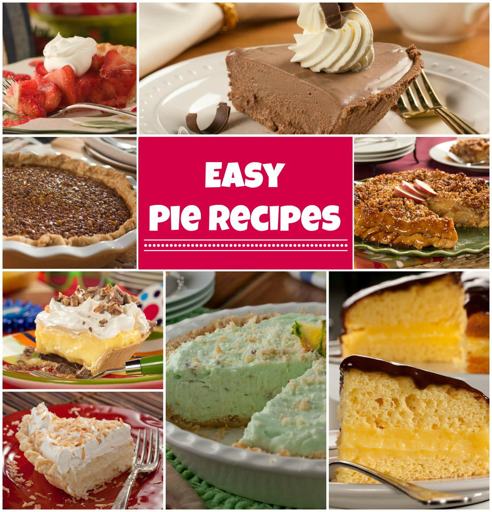 74 Easy Pie Recipes Plus 5 Homemade Pie Crusts Mrfood Com