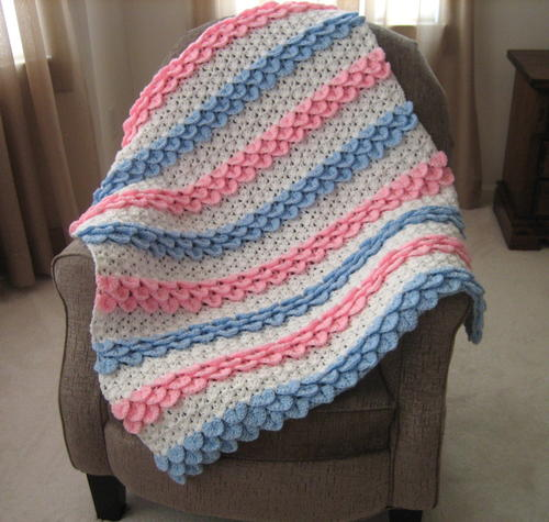 Fast Easy Crochet Baby Blanket – Quotes of the Day