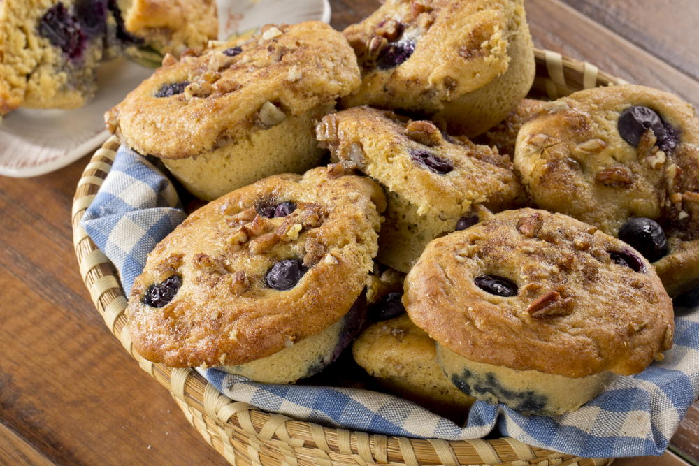 Blueberry Crumble Muffins | EverydayDiabeticRecipes.com