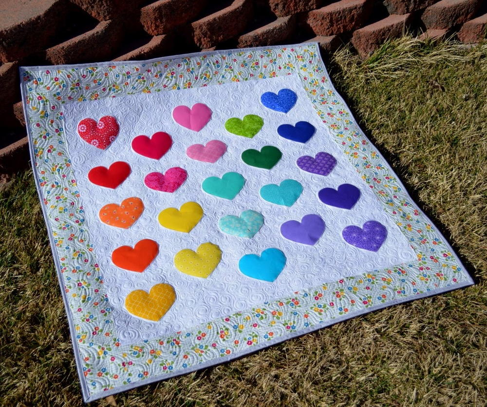 Lovey Dovey Baby Quilt Allfreesewing Com