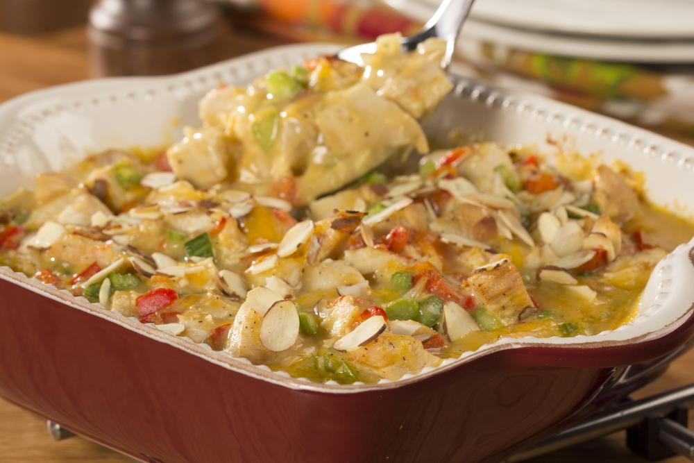 Hot Chicken Salad Casserole Everydaydiabeticrecipes