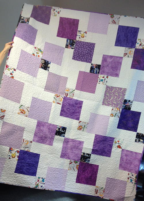 Incredible Disappearing Nine Patch Quilt Favequilts Com