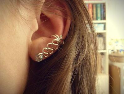 Hypnotic Crystal DIY Ear Cuff