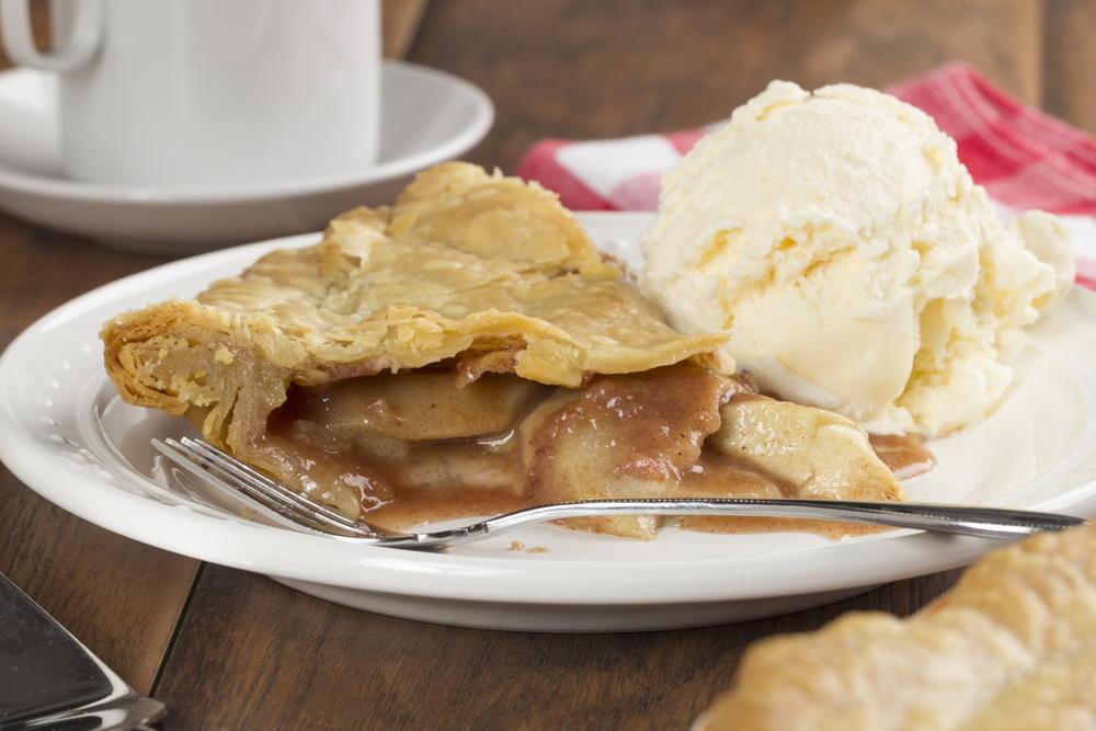 Classic Deep Dish Apple Pie | MrFood.com