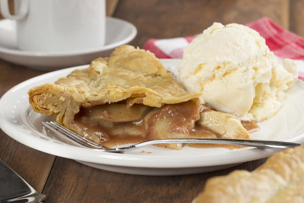 Classic Deep Dish Apple Pie | MrFood.com
