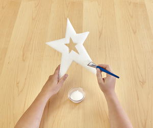 Metallic Glittered Star Assortment