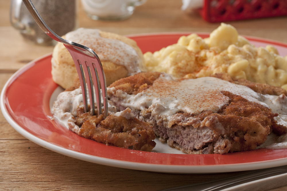 Redneck Chicken Fried Steak Mrfood Com