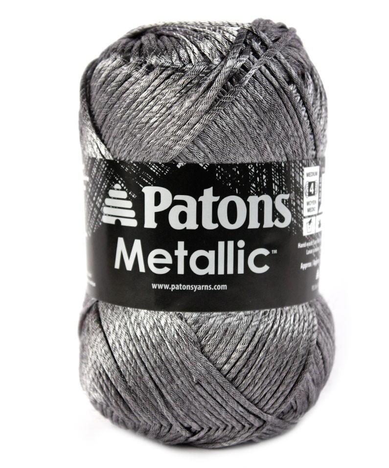 Patons Metallic Yarn Allfreecrochet Com