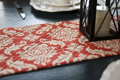 Simple Autumn Table Runner