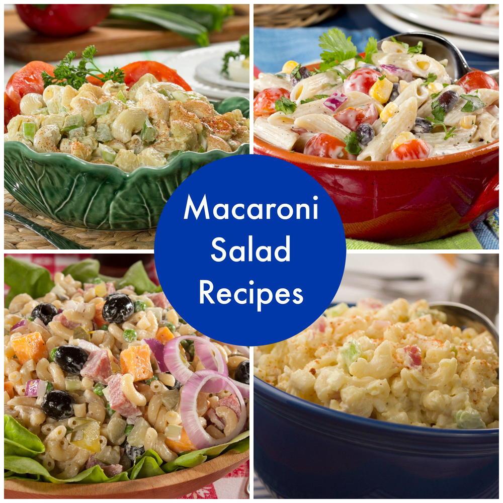 How to Make Macaroni Salad: 14 Simple Macaroni Salad Recipes | MrFood ...