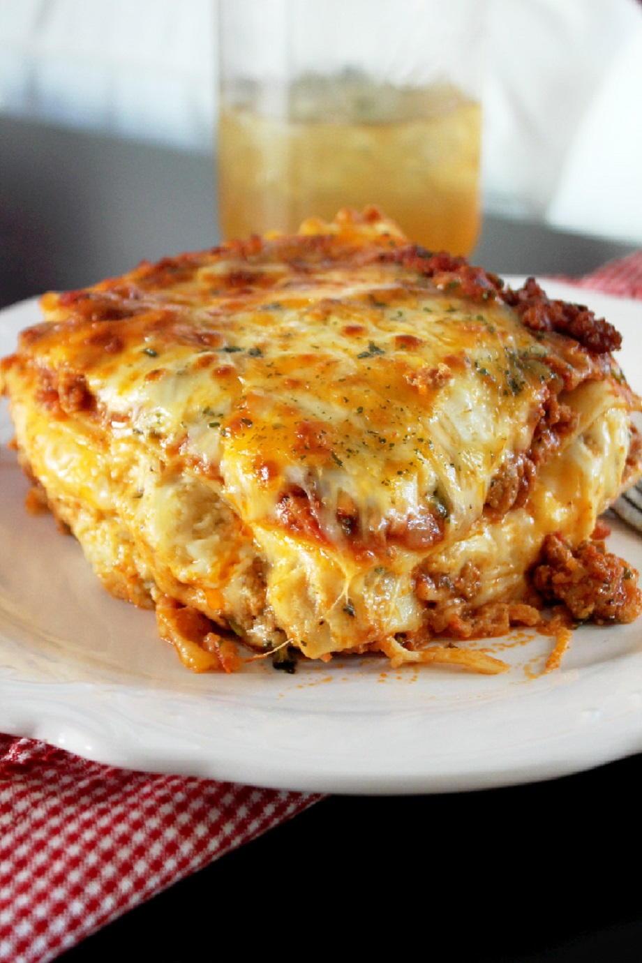 Louisiana Cajun Lasagna Favesouthernrecipes Com