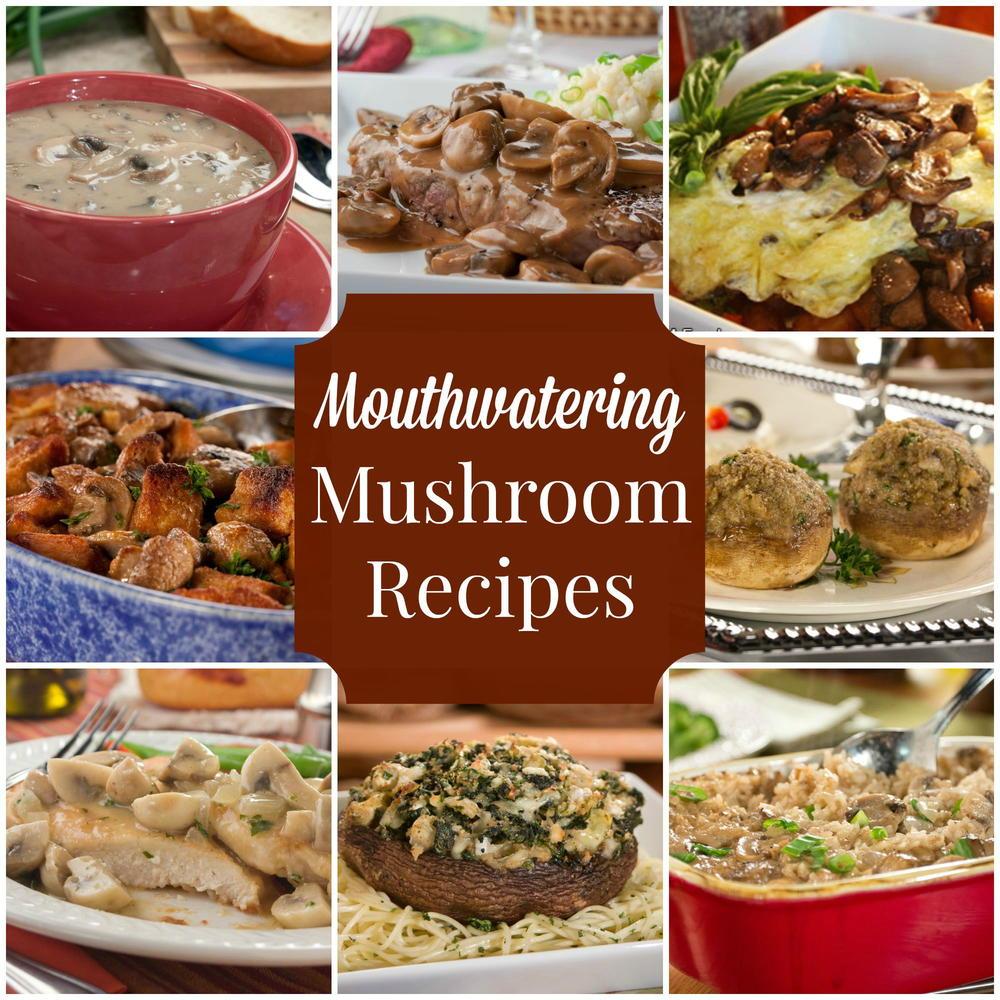 35 Mouthwatering Mushroom Recipes
