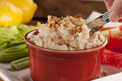 Nutty White Bean Hummus