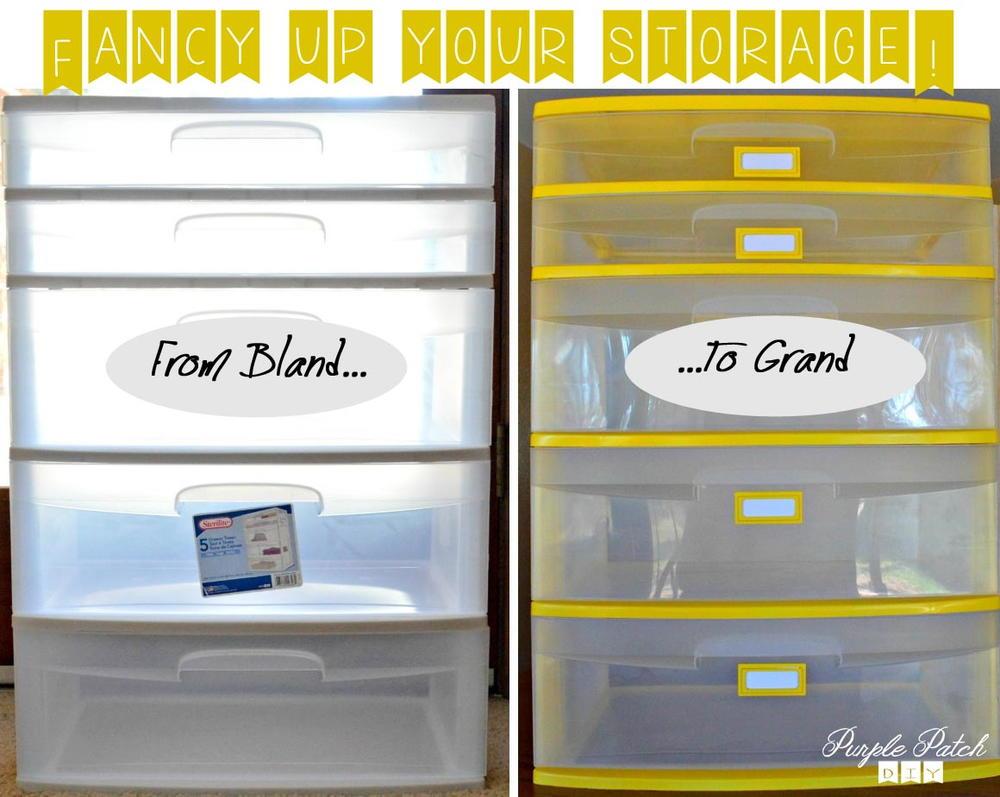 DIY Storage Makeover DIYIdeaCentercom