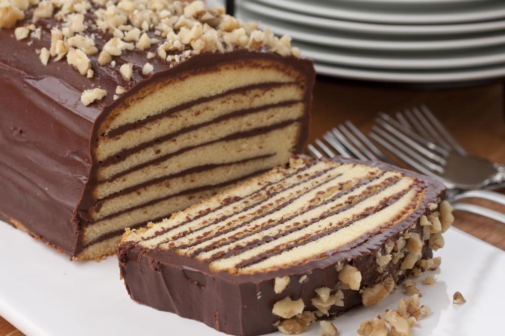 Adding Chocolate To A Coffee Cake