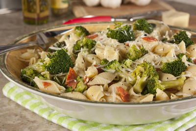 Shells with Broccoli
