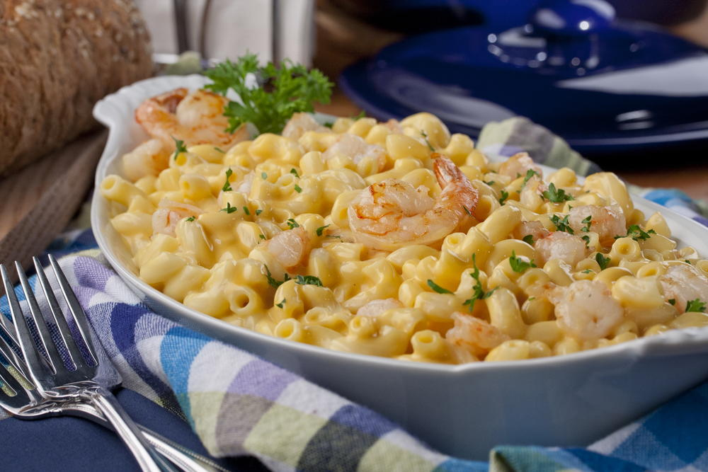 Shrimp Mac N Cheese Mrfood Com