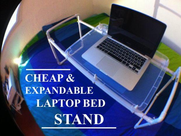 DIY Laptop Stand DIYIdeaCentercom