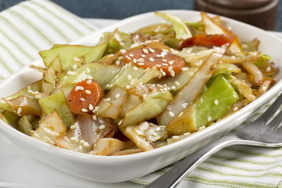 Our Favorite Cabbage Stir-Fry