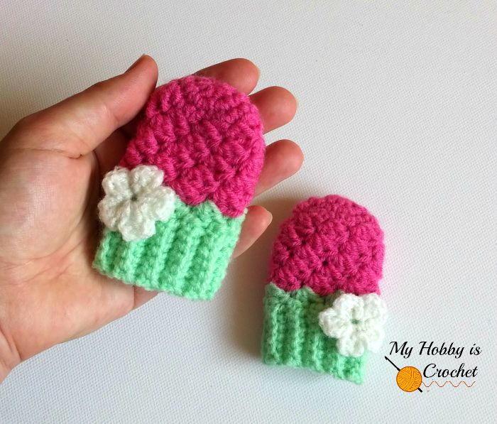 Blooming Berry Baby Mitten Pattern Allfreecrochet Com