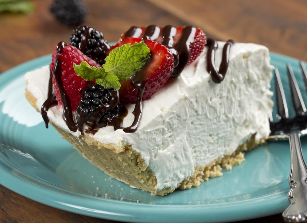 Sour Cream Pie Mrfood Com