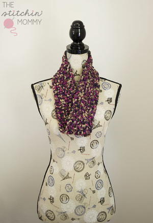 Romance in Twilight Mobius Scarf