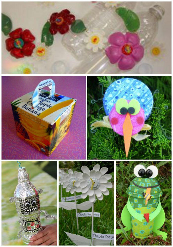 1000 recycled crafts crafting with recyclable items for Waste material craft works