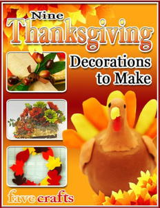 """9 Thanksgiving Decorations to Make"" eBook"