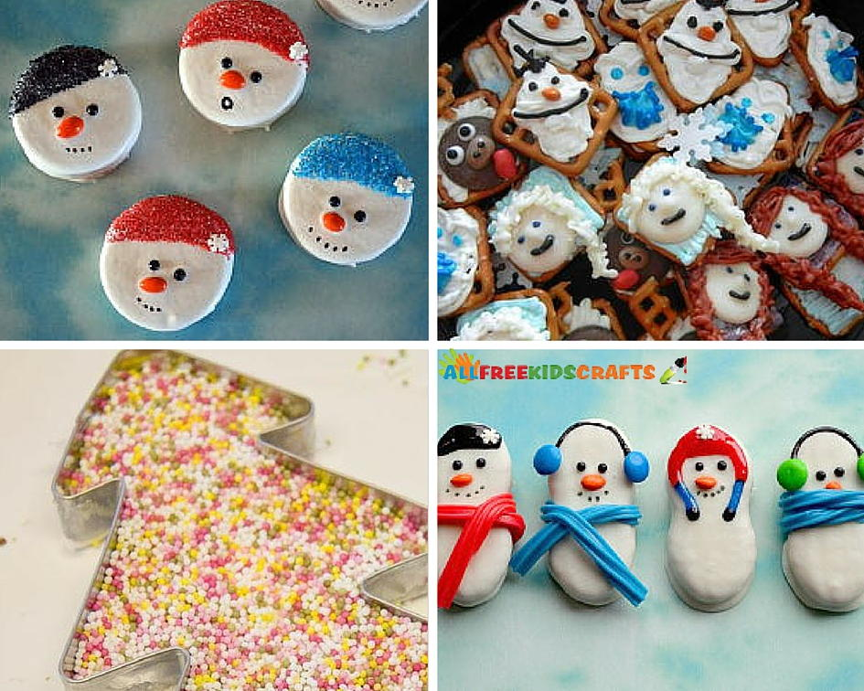26 edible christmas crafts and winter treats for Edible christmas crafts for kids