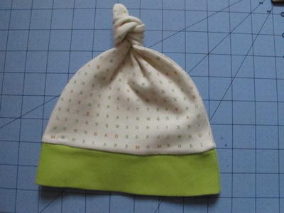 Baby Knot Hat Pattern and Tutorial