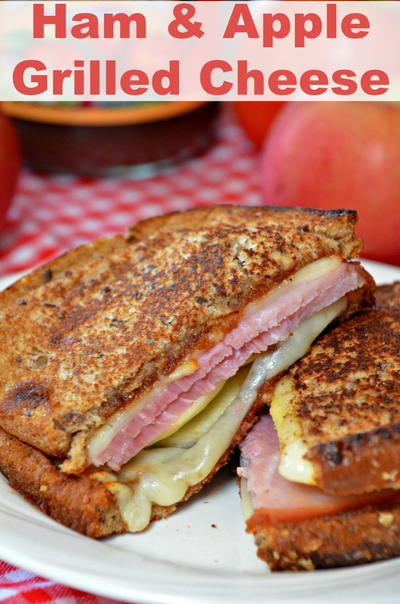 Best Apple & Ham Grilled Cheese