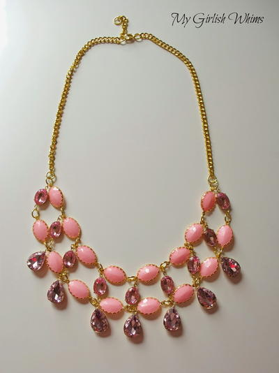Pretty in Pink Statement Necklace