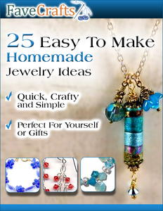 """25 Easy to Make Homemade Jewelry Ideas"" eBook"