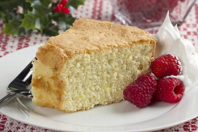Holiday Sponge Cake