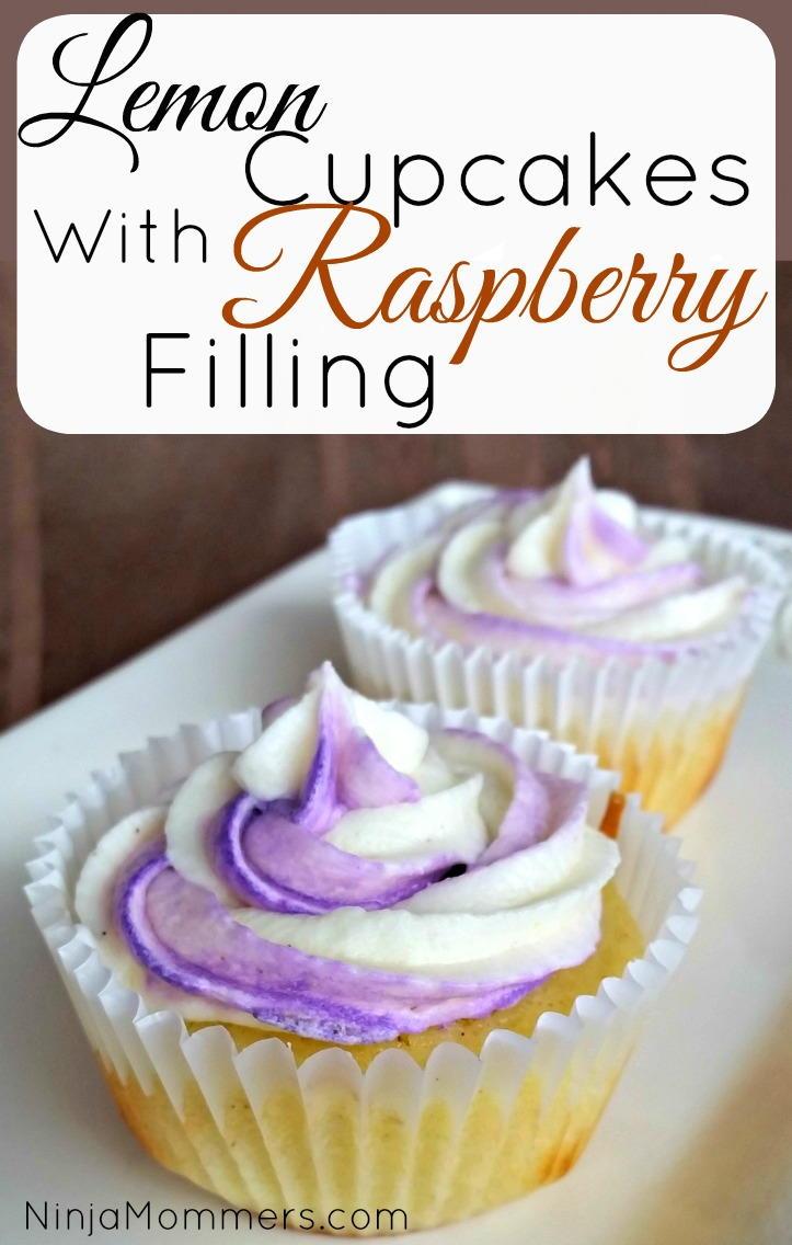 Lemon Cupcakes With Raspberry Filling And Lemon Buttercream Icing Recipe Recipelion Com